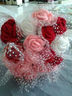 Crochet rose by me