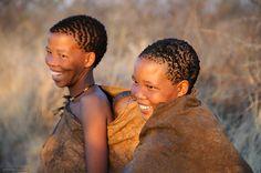 Africa |  San Bushmen women Botswana. |   © Jacqueline Deely
