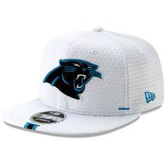 size 40 d7d67 3dc3c Men s Carolina Panthers New Era White 2019 NFL Training Camp Original Fit  9FIFTY Adjustable Snapback Hat