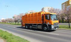 Usługi komunalne orange Mercedes