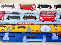Sneaky peeky of Next Stop London by Laurie Wisbrun for Robert Kaufman Fabrics!!