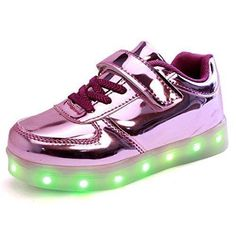 Oferta: 28.32€. Comprar Ofertas de DoGeek Zapatos Led Deportivos Para Hombres Mujeres 7 Color USB Carga LED Luz Glow Luminosos Zappatillas Light Up USB Velcro F barato. ¡Mira las ofertas!