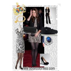 Kate Middleton in Black and White#Repin By:Pinterest++ for iPad#