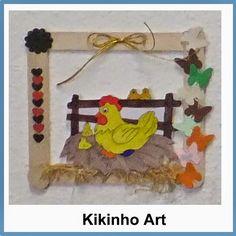 Kikinho Art: Quadros para enfeitar - Páscoa
