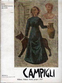 CAMPIGLI - Mostra di Massimo Campigli. Milano,  Moneta Industrie Grafiche,  1967. Catalogo di mostra, Milano Palazzo Reale, giugno 1967