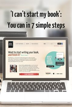 PNRL Say 'I can't start my book' no more - here are 7 simple steps to start and finish writing a novel. Writing Quotes, Fiction Writing, Writing Advice, Writing Resources, Start Writing, Writing Help, Writing Skills, Writing A Book, Starting A Book