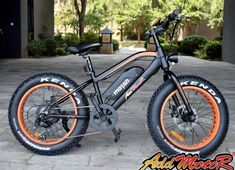 Addmotor MOTAN Electric Fat Tire Bike is a new design in The brushless motor has excellent power can easily conquer the beach, Electric Bicycle, Electric Motor, Montain Bike, Futuristic Motorcycle, Fat Bike, Old Bikes, 1 Year, Children, Easy