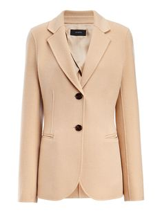 Light Double-Cashmere Archi Coat , CAMEL