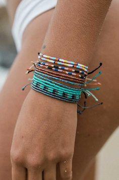 New Summer Seed Beads | Pura Vida Bracelets http://amzn.to/2svAfhR