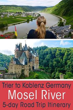 The Mosel Valley (Germany) means castles, wine and river views. I offer the best Mosel River road trip stops from Trier to Koblenz on a 3 or 5-day itinerary #germany #roadtrip #europe
