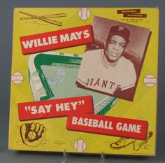 """Willie Mays """"Say Hey"""" Baseball Game © The Strong"""