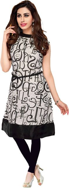 Ishin Party Printed Women's Kurti Price: Rs. 899 Elegant stitched Georgette kurti with Attachable Sleeves. Available in M, L, Xl size.