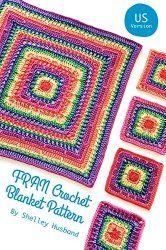 FRAN Crochet Blanket ebook!