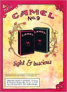 camel / cigarette