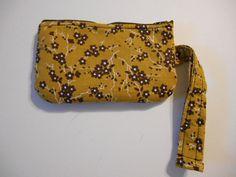 Handmade Wristlet Purse wallet change makeup case by MadkDesigns, $7.00