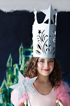 Karnevalskostüme und Accessoires für Kinder zum Selbermachen-Prinzessin-Look