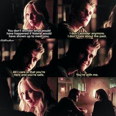"""""""[7x03] Why is this episode so dark ahhh  ⠀ This is for my lovely Steroline shippers @soulvatore and @mademoiselleforbes and every other one of course ❤️…"""""""