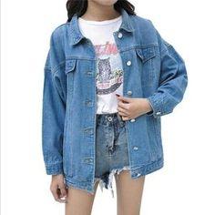 4627ee94a0e Dunayskiy Women Blue Long Sleeve Loose Denim Jackets Casaco Feminino S –  rodewe Novo Estilo,