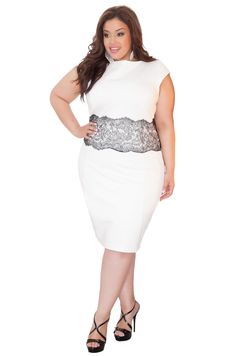 Just discovered @Curvezz! I love their motto: Style is not defined by size.  Curvy Becky dress $178