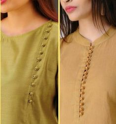 15 Latest Kurti Neck Designs To Look Your Best Chudidhar Designs, Churidhar Neck Designs, Salwar Neck Designs, New Kurti Designs, Neck Designs For Suits, Neckline Designs, Dress Neck Designs, Kurti Designs Party Wear, Sleeve Designs For Kurtis