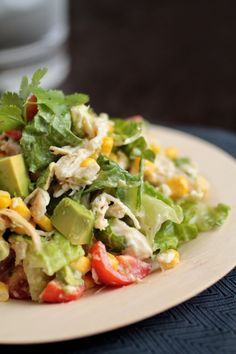 Cilantro Chopped Chicken Salad