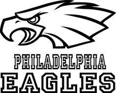 Philadelphia Eagles Football Logo & Name Custom by VinylGrafix