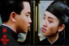 "Leslie Cheung  Anita Mui in ""Rouge"" (1988)"