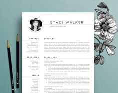 These are the best worst fonts to use on your resume via brit creative resume template cv template cover by thecreativeresume pronofoot35fo Image collections