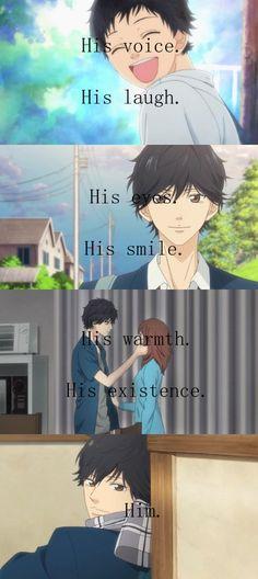 Him. <3 | Anime/manga: Ao Haru Ride (Blue Spring Ride) [Mabuchi Kou x Futaba Yoshioka]