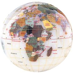KALIFANO 4 Gemstone Globe Paperweight with Opal Opalite Ocean >>> You can find out more details at the link of the image. (Note:Amazon affiliate link)