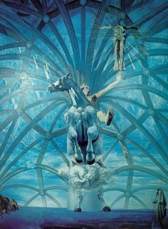 optical illusions in salvador dalis paintings - Salvador Dali Lebenslauf