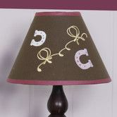 """Found it at Wayfair - 7"""" Polyester / Cotton Empire Lamp Shade"""
