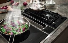 Home appliance manufacturer NEFF is launching a new range of FlexInduction hobs with integrated ventilation, specially designed for those of us who like to have a clear view and lots of head space in the kitchen.<br><br>The new cooktop ventilation combines the functions of the FlexInduction hob with the efficiency of the venting hood in one single appliance thus giving you more flexibility, headspace and a free view of the kitchen.