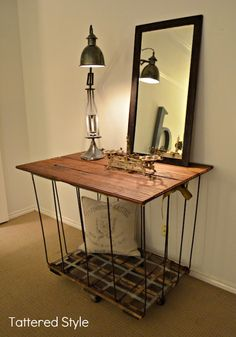 Old to New: A Laundry Cart Makeover