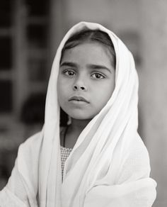 photo by Fazal Sheikh. young with the looks of an old soul