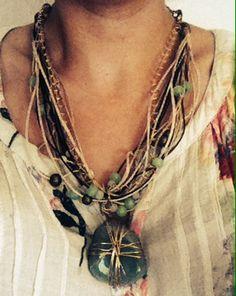 Handmade, Marelle, necklace