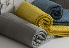 Crompton Quilted Bed Runner | elinens.co.uk