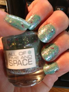 Nerd lacquer all of time and space