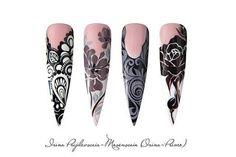 #handpainted #nailart #nails