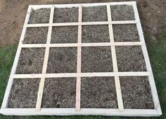 Your DIY Square Foot Garden is now ready to plant your vegetables in