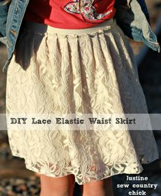 Lace Skirt DIY Sew Country Chick
