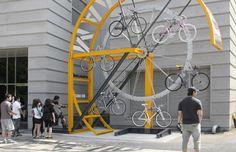 Bike Hanger, una soluzione innovativa per il parcheggio delle biciclette