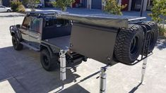 Custom canopy is also known as a custom tent. If you love adventure, then you can go for camping. But for camping, you need to arrange some essential things like a proper backpack, custom canopy or… Landcruiser Ute, Landcruiser 79 Series, Ute Camping, Truck Camping, Camping Canopy, Camping Guide, Camping Ideas, Overland Truck, Expedition Vehicle