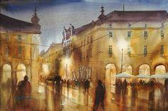 Lisbon, Portugal VIII by Keiko Tanabe.
