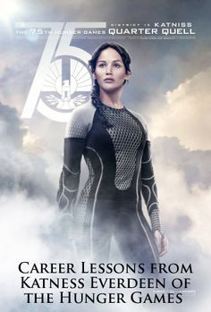 8 Career Lessons from Katniss Everdeen of the 'Hunger Games' #CatchingFire #CelebrateYourVictors