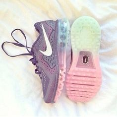 shoes nike sneakers nike fitness colorful, rainbow, pastel, sparkle, pink, blue, green, purple sneakers purple