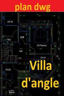 Cout Construction Maison, Plan Autocad, Civil Engineering Design, Free House Plans, Villa Plan, Bathroom Floor Plans, Facade House, Architecture Plan, Cad Free