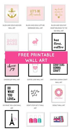 Free Printables: Bilderparty - Hey Pretty