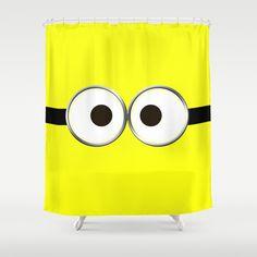Minion Shower Curtain By Cbrocoff