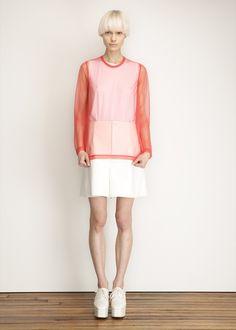 Junya Watanabe Long Sleeve Top (Red)